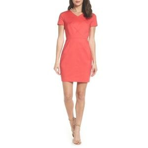 Azalea Pink Glass Stretch Sheath Dress, Size 0